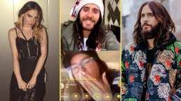 """Belinda hace que Jared Leto hable español en divertida videollamada: """"¡Viva México ca...!"""""""