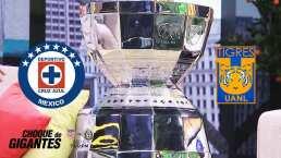 El trofeo de la Leagues Cup que levantará Cruz Azul o Tigres