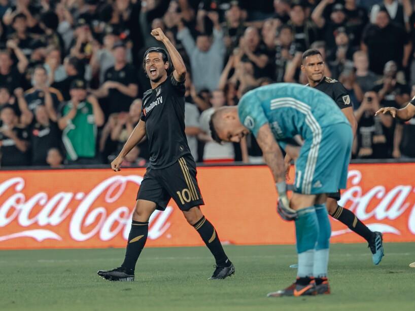 Carlos Vela puede reaparecer tras perderse tres partidos con Los Ángeles FC.