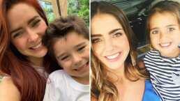 A Ariadne Díaz le tocó cuidar al hijo de Michelle Renaud y presume que él y su hijo son los mejores amigos