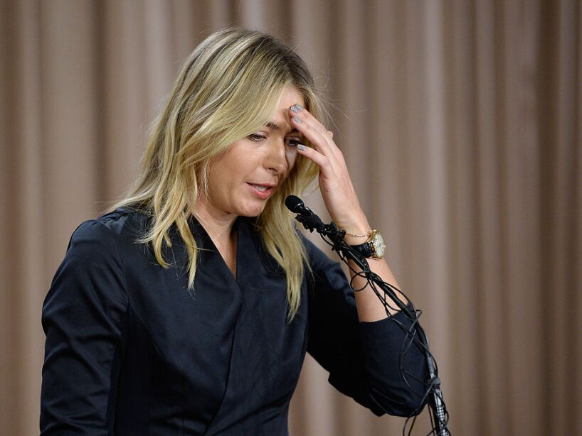 Maria Sharapova Announces She Failed Doping Test