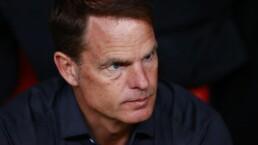 """Frank de Boer: """"Idealmente, no hubiera jugado contra México"""""""