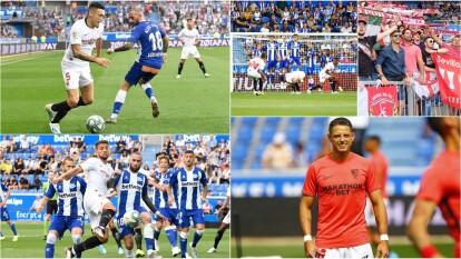 Sevilla gana un gol a cero.