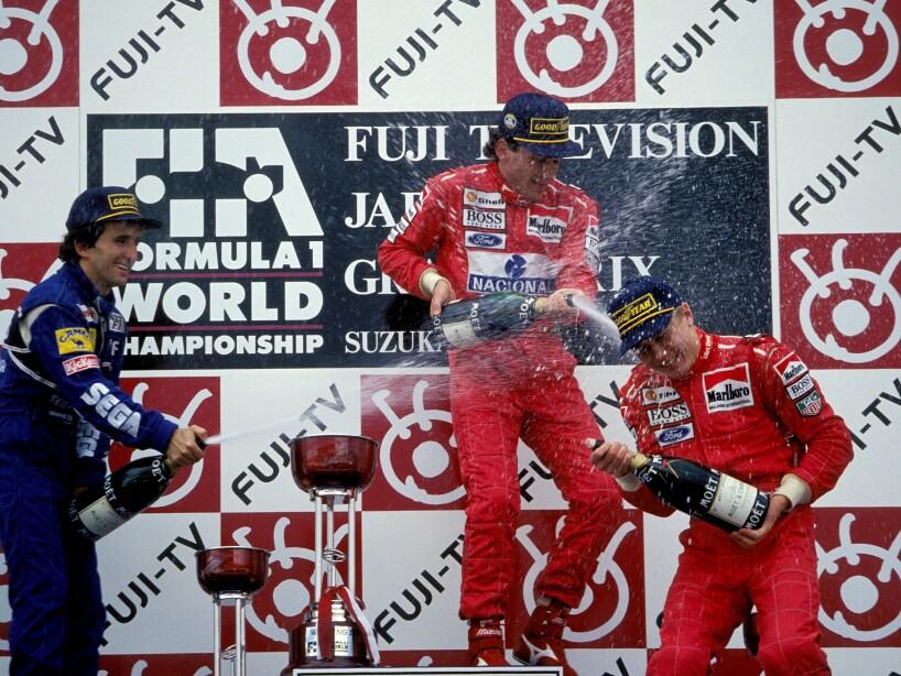 Formula 1: Grand Prix in Suzuka, Japan on Octorber 23, 1993-