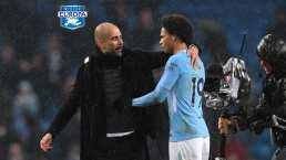 Pep Guardiola le desea éxitos a Leroy Sané en el Bayern Múnich