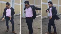 La impecable coreografía de Omar Chaparro al ritmo de 'Dangerous' de Michael Jackson
