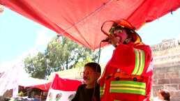 Efraín Hernández, 'Bomberín': el payaso que también es bombero