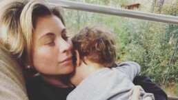 Ludwika Paleta tiene una 'mini maquillista' en casa; su hija Bárbara la consiente y ella lo presume
