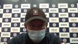 Juan Reynoso espera resolución de plantel en Cruz Azul