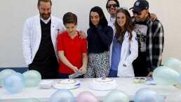 Así celebró Jaime Maqueo su cumpleaños en 'Médicos Línea de Vida'
