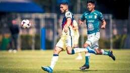 Bruno Valdez fue titular con América Sub 20 y casi mete gol