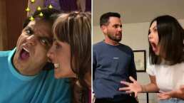 Yuridia y su esposo protagonizan 'acalorada discusión' al estilo de 'La Familia P. Luche'