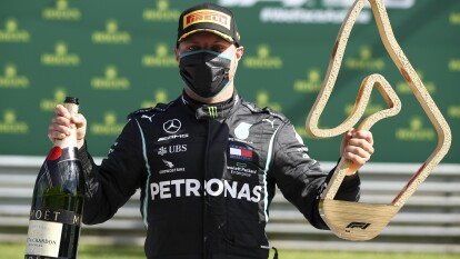 Valtteri Bottas no abandonó la primera plaza en ningún momento y Lando Norris cierra de manera impresionante para apoderarse de su primer podio.