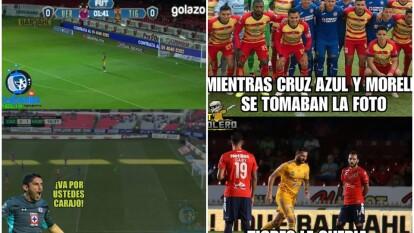 La Jornada no perdona la actitud de Tigres ante Veracruz y la derrota de Cruz Azul en el Estadio Azteca.