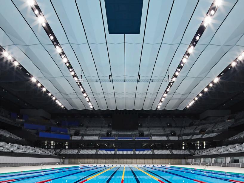 Centro acuático de Tokio