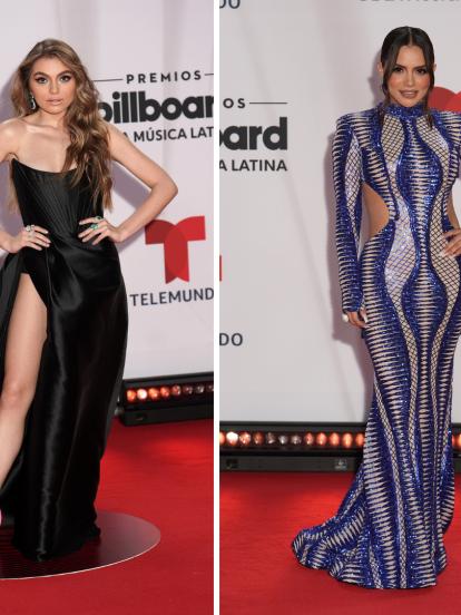 La noche del pasado miércoles 21 de octubre se celebraron los Premios Latin Billboard 2020 en la ciudad de Miami, Florida. A continuación, te presentamos los looks de algunas celebridades que desfilaron por la alfombra roja.