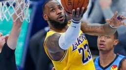 Los Lakers no tuvieron piedad de los Bucks
