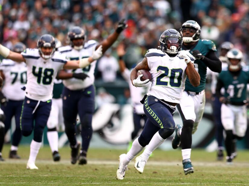 Seattle Seahawks v Philadelphia Eagles