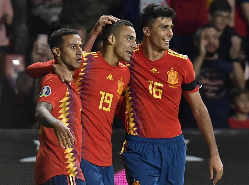 Spain Faroe Islands Euro 2020 Soccer