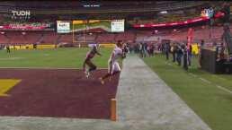 ¿Cómo lo atrapó? Sims hizo una gran recepción para touchdown