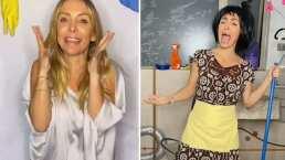 Erika Zaba pierde apuesta en 'Me caigo de risa' y termina disfrazándose de la 'Chimoltrufia'