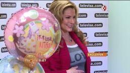 Martha Julia feliz por la llegada de su bebé