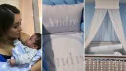 Sherlyn presume cómo luce la cuna completa y personalizada de su bebé, André: 'Yo estoy enamorada'