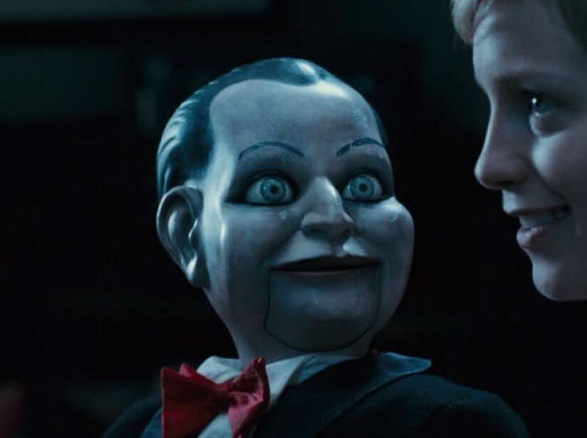 De los creadores de Saw, el muñeco en Dead Silence sin duda provoca más pesadillas que ternura.