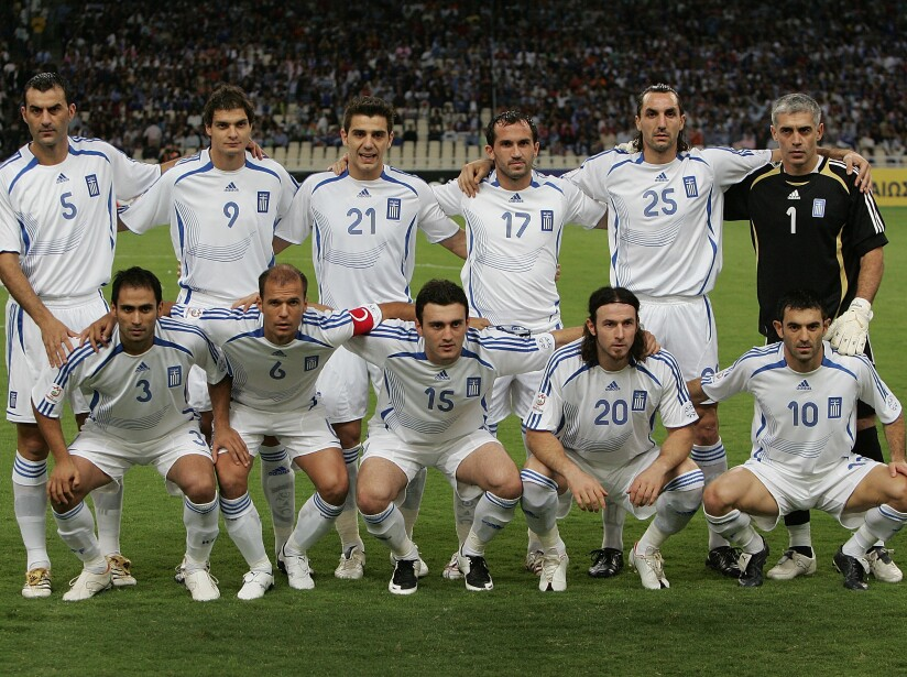 Euro2008 Qualifier - Greece v Bosnia Herzegovina