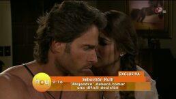 Sebastián Rulli promete escenas fuertes en la telenovela