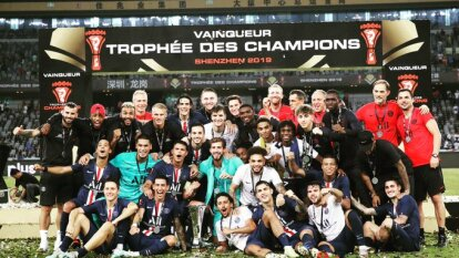 El PSG venció 2-1 al Rennes en la Supercopa de Francia y conquistó el título número 40 de su historia.