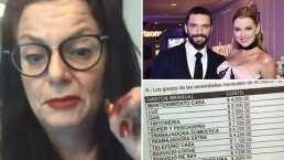 Video: Hermana de Julián Gil revela los supuestos gastos de manutención que Marjorie de Sousa le pide al actor