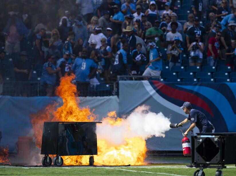 Indianapolis Colts v Tennessee Titans