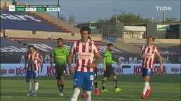 ¡Se acaba la sequía! J. J. Macías marca el primer gol de Chivas