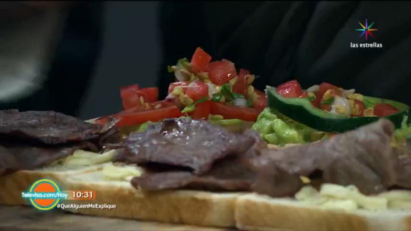 Sándwiches al estilo mexicano y español