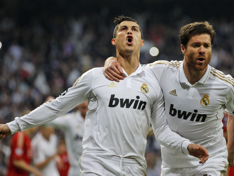 Cristiano Ronaldo, Xabi alonso