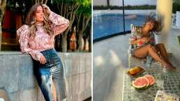 Galilea Montijo aparece en traje de baño y resalta sus torneadas piernas: 'Hermosa'