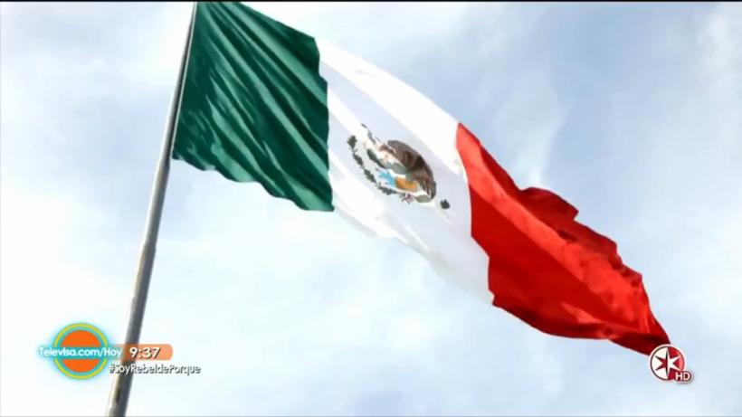 5 Cosas que debes saber de la bandera de México