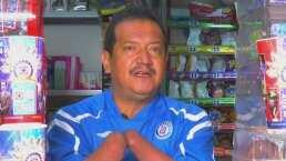Fan de Cruz Azul con una discapacidad hace un llamado al amor por la camiseta
