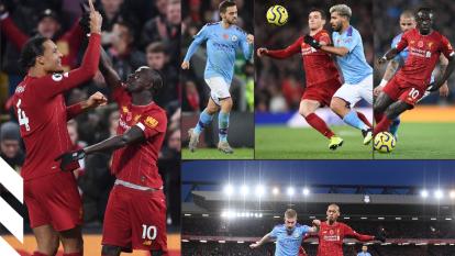 Con victoria de tres goles a uno sobre el Manchester City, el Liverpool es líder de la Premier League y City cae a la cuarta posición.