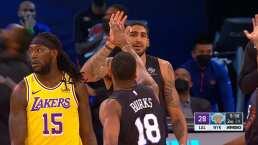 Partido flojo de los Knicks basta ante los Lakers