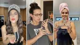 Reinas de Belleza hacen homenaje a trabajadoras de la salud compartiendo sus coronas