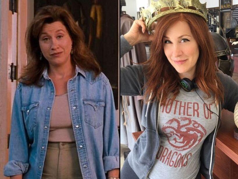 Juego de Gemelas, antes y después de los actores del elenco