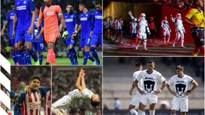 Desde el fracaso de Cruz Azul, hasta la esperanza de Chivas y Pumas ¡Mira lo mejor de la Jornada 18!