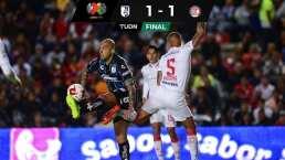 Querétaro y Toluca dividen puntos en inicio de jornada