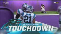 ¡Pick six Panthers! Jeremy Chinn le da la ventaja sobre Vikings