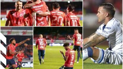 Puebla cae en el Luis 'Pirata' Fuente 1-0 ante el Veracruz en la Jornada 16 de la Liga MX. Colin Kazim Richards marcó al 49' para los locales.
