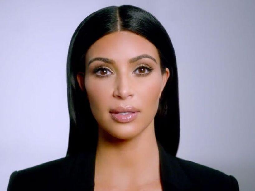 11. Kim Kardashian: La pareja de Kanye West es criticada por no tener ningún talento y ser frívola.