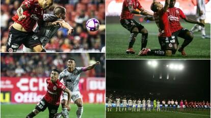 Tijuana y Atlas se midieron en el estadio Caliente en uno de los dos juegos nocturnos sabatinos en la Fecha 13 del futbol mexicano, mismo que fue trepidante tras un 2-2 final.