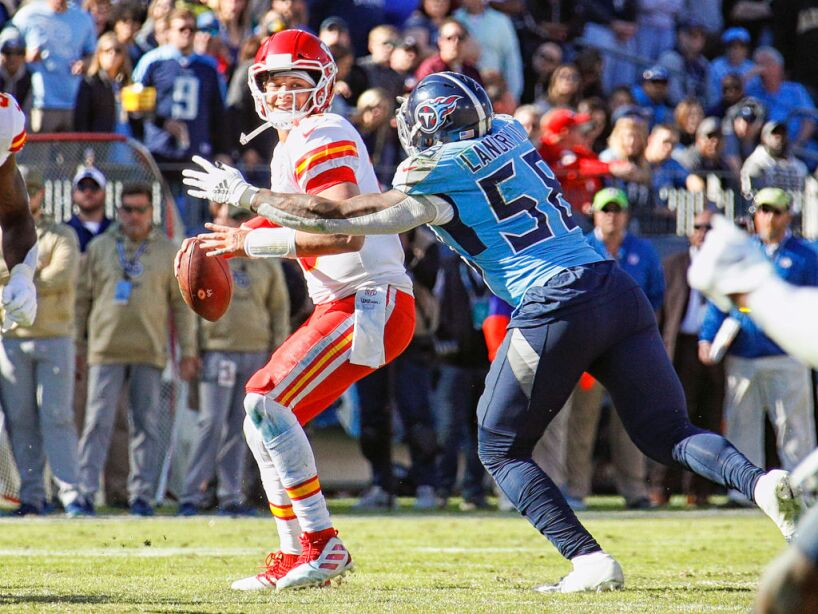 Kansas City Chiefs vTennessee Titans